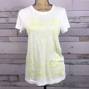 J Crew Soft Cotton Scented Soaps Graphic Tee Large